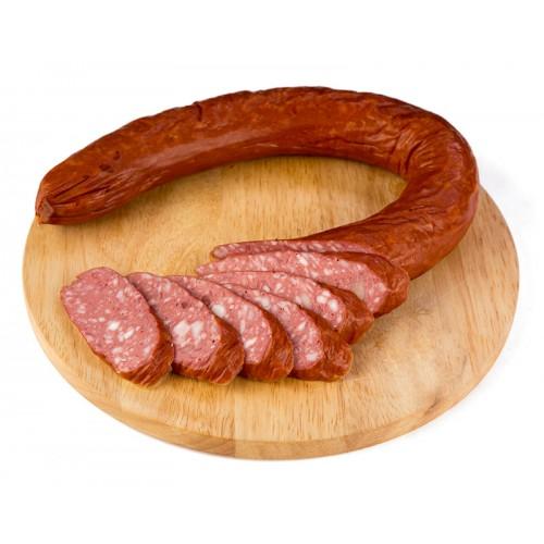 Полукопченая колбаса «Пражская»