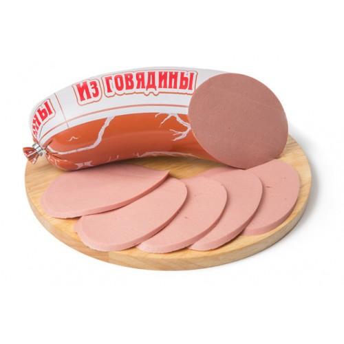 Вареная колбаса «Из говядины»
