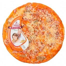 Пицца «с ветчиной и грибами»