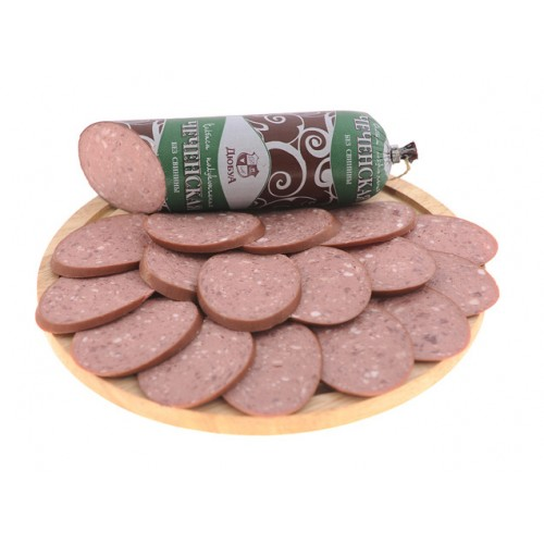 Полукопченая колбаса «Чеченская»