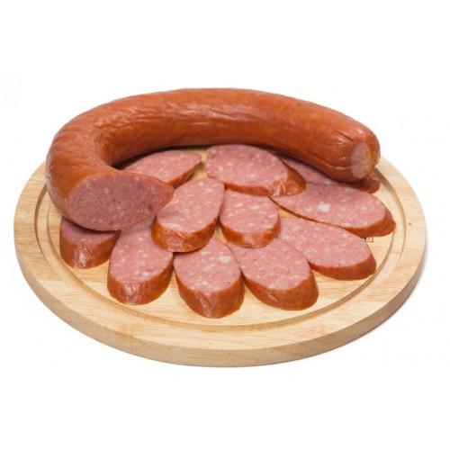 Полукопченая колбаса «Чесночная»