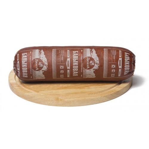 Полукопченая колбаса «Балыковая»