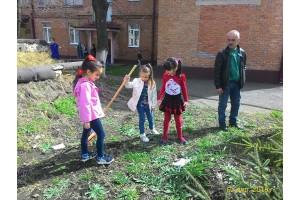 Благоустройство детского сада №45
